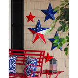 Americana Stars Outdoor Wall Décor, Set of 3