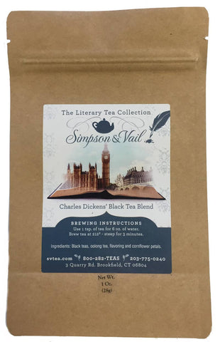 Charles Dickens' Black Tea Blend - 1oz