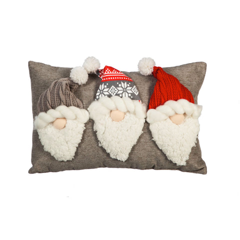 Gnome Lumbar Pillow