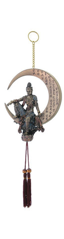 Water & Moon Quan Yin Dreamcatcher - 11.5""
