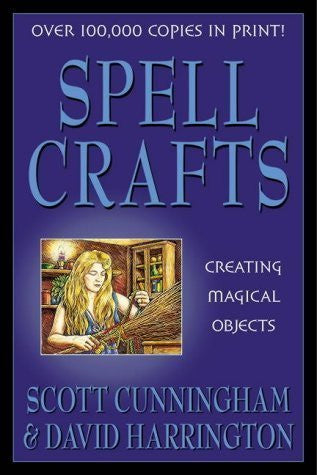 Spell Crafts (Llewellyn's Practical Magick) by Cunningham, Scott, Harrington, David (1994) Paperback - Cast a Stone