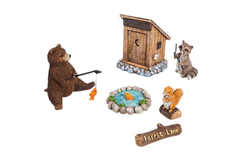 Forest Lane Mini Garden Set of 6