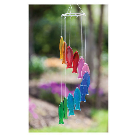 Funky Fish Glass Chime