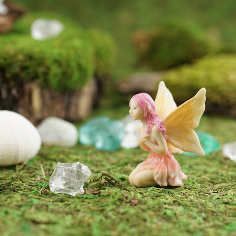 Mini Flower Fairy: Heartfelt Fairy Garden Miniature