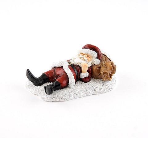 Napping Santa Fairy Garden Miniature