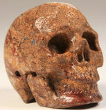 Pietersite Natural Crystal Skull