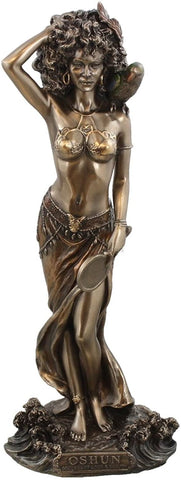 Oshun Statue (9.5) - Orisha of Love Beauty and Marriage