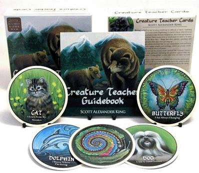 Creature Teacher Cards: Animal Wisdom For All Ages by Scott Alexander King - Cast a Stone