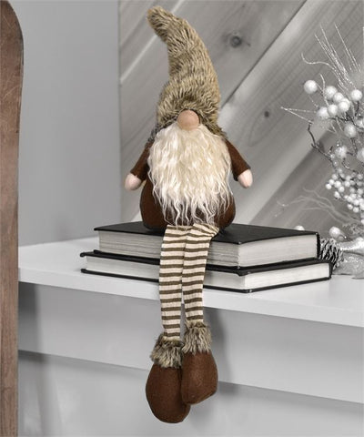 Cotton/Polyester Shelf Sitter Santa