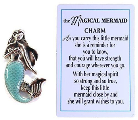 The Magical Mermaid Charm