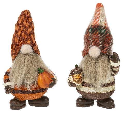 Lucky Little Autumn Gnome