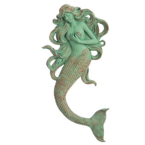 Mermaid wall decor Verdi - Cast a Stone