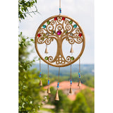 Jeweled Tree Garden Bell