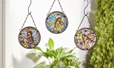 Fairy Glass & Iron Suncatcher