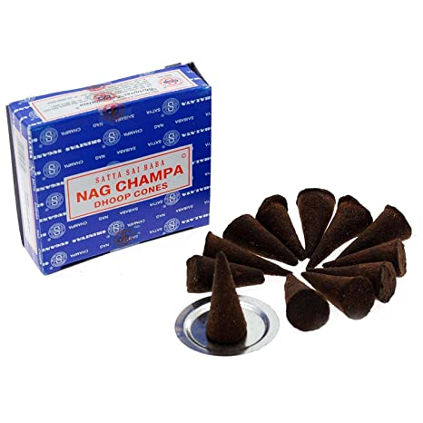 Nag Champa Incense (Dhoop) Cones