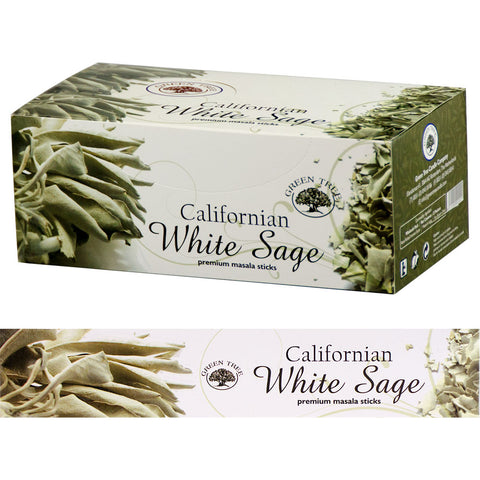Green Tree White Sage Incense Sticks 15gm
