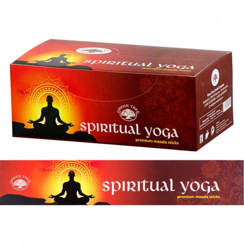 Green Tree Spiritual Yoga Incense Sticks 15gm