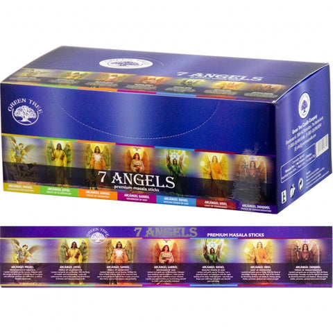 Green Tree 7 Angels Incense Sticks 15gm