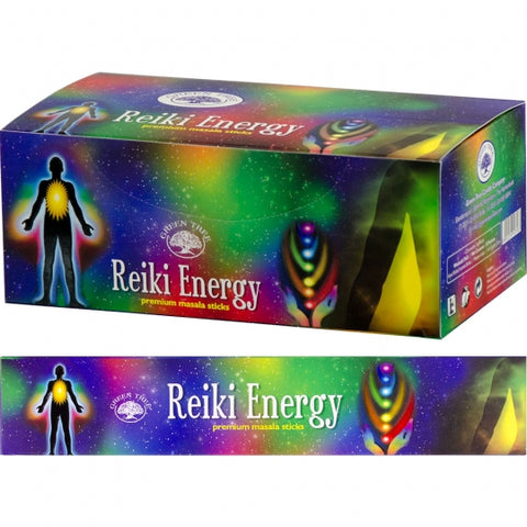 Green Tree Reiki Energy Incense Sticks 15gm