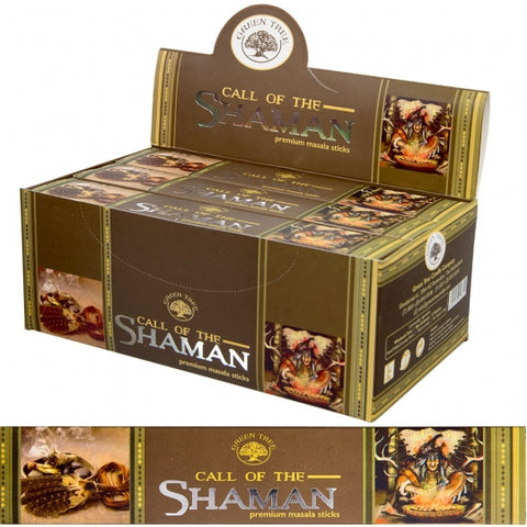 Green Tree Call of the Shaman Incense Sticks 15gm