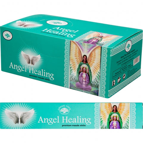 Green Tree Angel Healing Incense Sticks 15gm