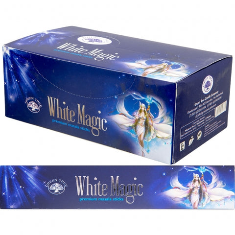 Green Tree White Magic Incense Sticks 15gm