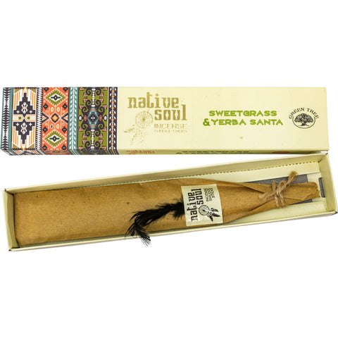 Native Soul Sweetgrass & Yerba Santa Incense Sticks 15gm