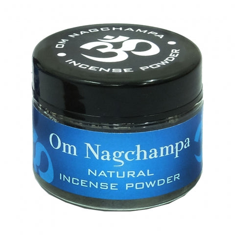 Om Nagchampa Incense Powder 20 gr Jar