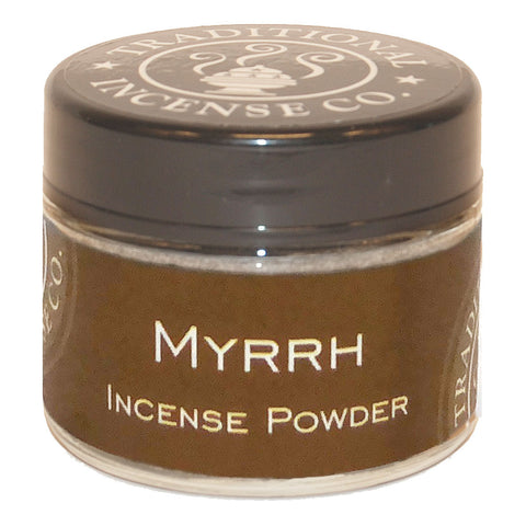 Myrrh Incense Powder 20 gr Jar