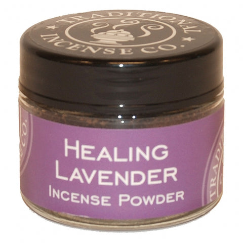 Healing Lavender Incense Powder 20 gr Jar
