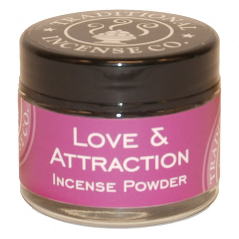 Love & Attraction Incense Powder 20 gr Jar