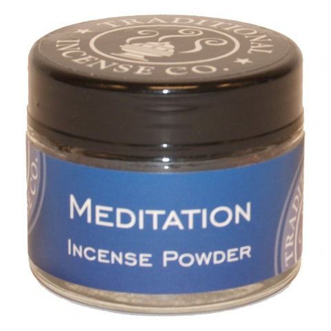 Meditation Incense Powder 20 gr Jar