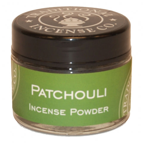 Patchouli Incense Powder 20 gr Jar
