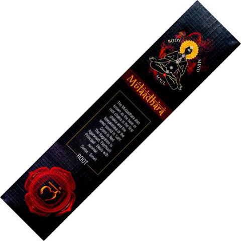 Goloka Mulaadhara Root Chakra Incense Sticks 15gm