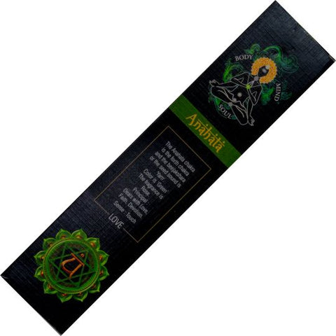 Goloka Anahata Heart Chakra Incense Sticks 15gm