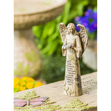 Angel with Bird Statuary