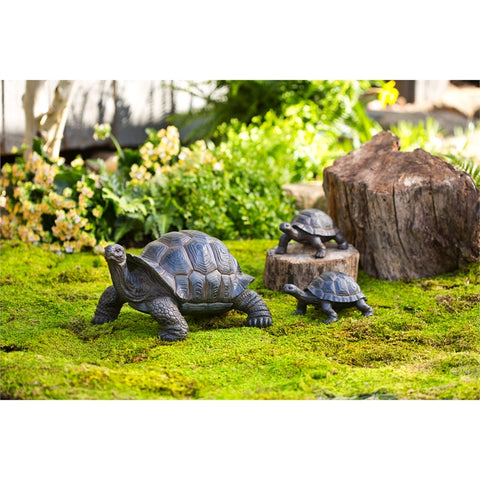 Tortoise and Babies statues, Set of 3
