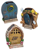 Solar Fairy Door - Night Garden - Cast a Stone
