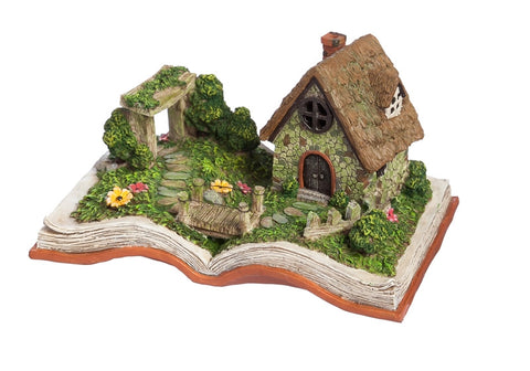 Battery Powered Fairy Village Storybook - Cast a Stone
