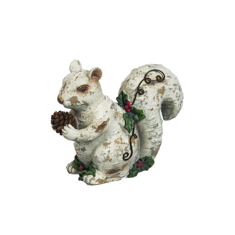 Serene Forest Squirrel Statue CLEARANCE