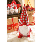 Fabric Gnome Décor with Advent Calendar Hat