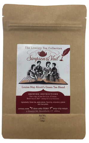 Louisa May Alcott's Green Tea Blend - 1oz