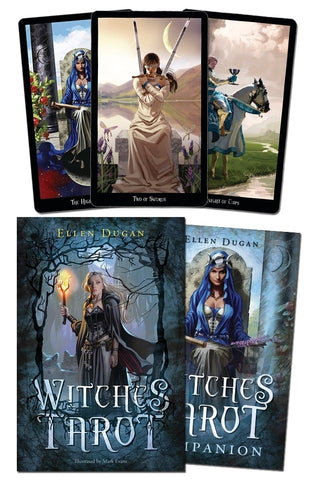 Witches Tarot by Ellen Dugan - Cast a Stone