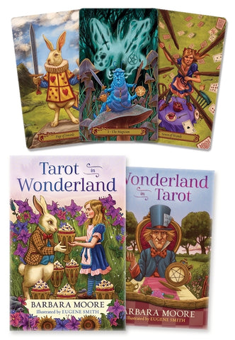 Tarot in Wonderland Tarot Deck By Barbara Moore, Eugene Smith