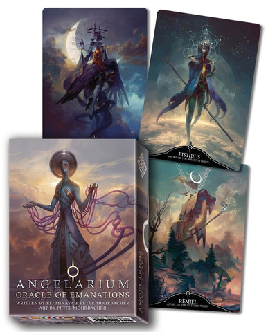 Angelarium: Oracle of Emanations by Eli Minaya & Peter Mohrbacher - Cast a Stone