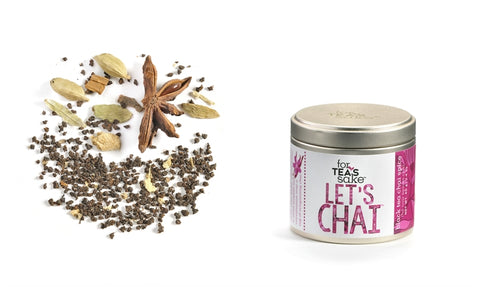 For Tea's Sake Let's Chai Spice Blend