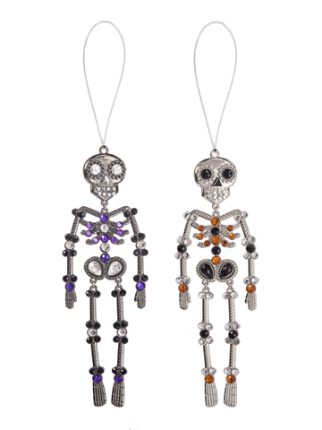 Skeleton Ornament 5""