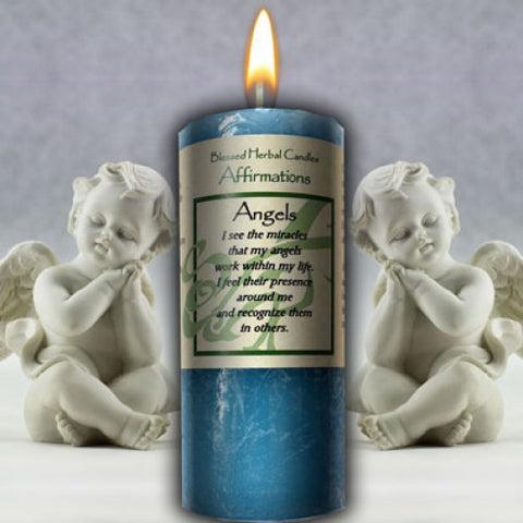 Angels Affirmation Candle