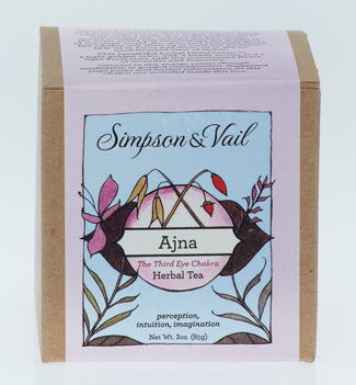 Third Eye Chakra (Ajna) - Yoga Herbal Tea - 3oz box