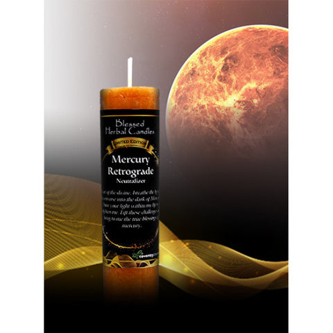 Mercury Retrograde Neutralizer Blessed Herbal Candle